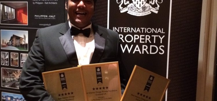 UBER win 3 five star property awards