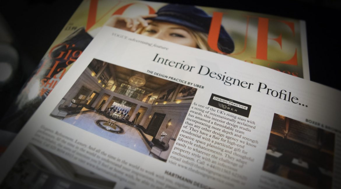 Vogue interior Design profile The design Practice by UBER