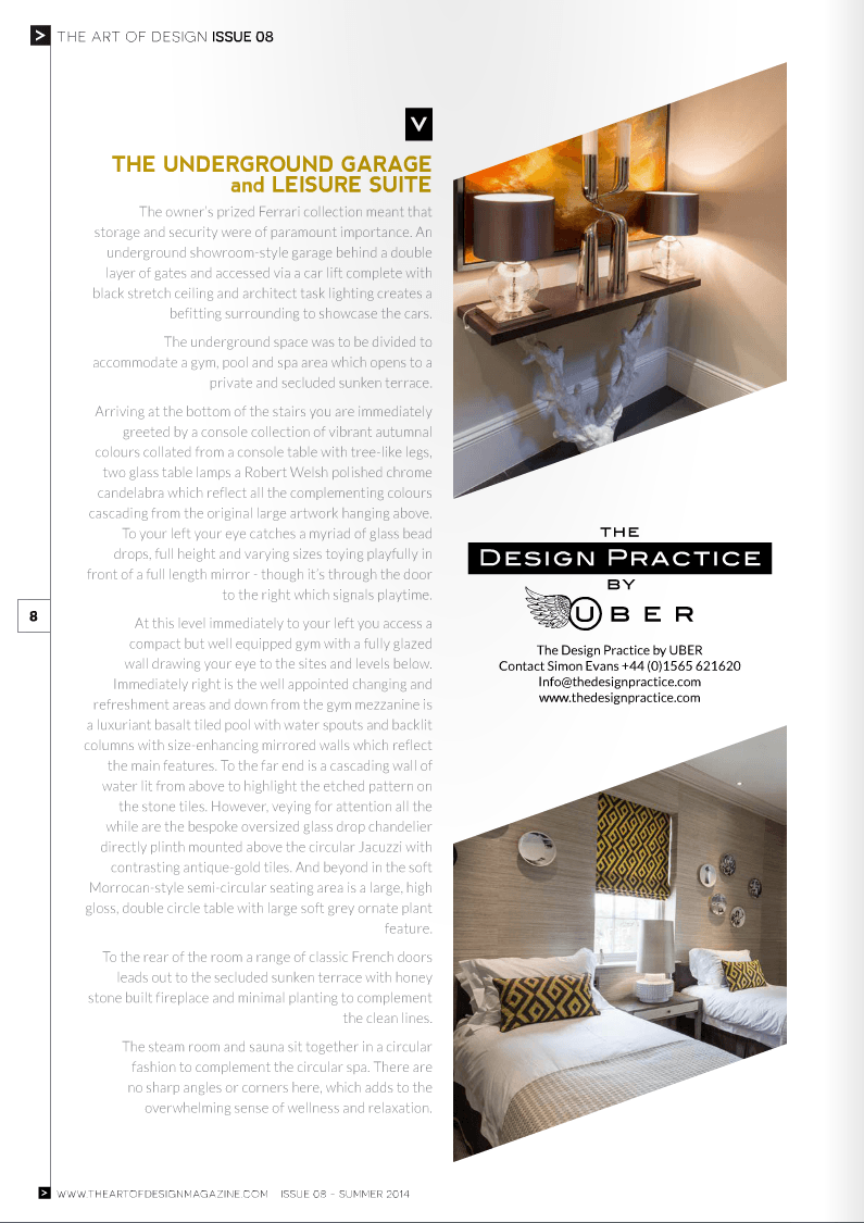 Art Of Design Magazine Article Design By Uber Inspirational Interior Design