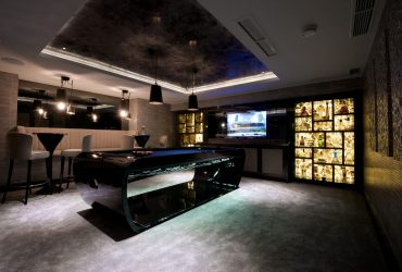 Man Cave Design by UBER games room