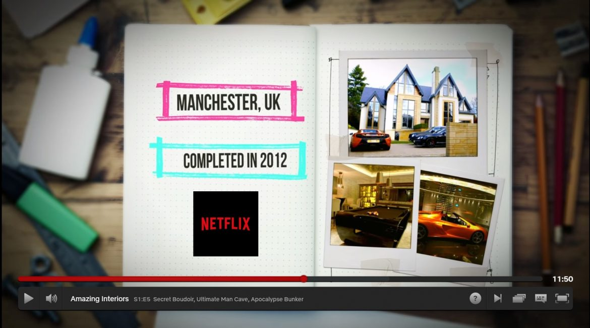 Netflix Amazing Interiors featuring The Man Cave - Design by UBER ...