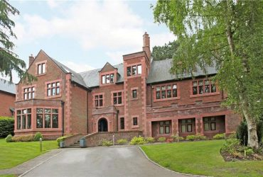 Imposing family house, Alderley Edge