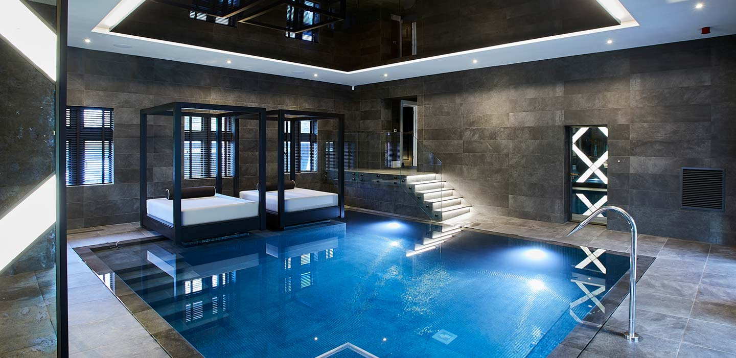 Reworked indoor residential pool