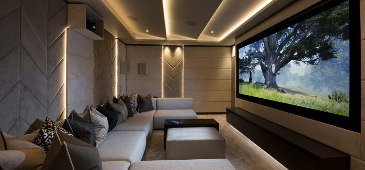 Contemporary super prime home Ribble Valley, UK - Cinema